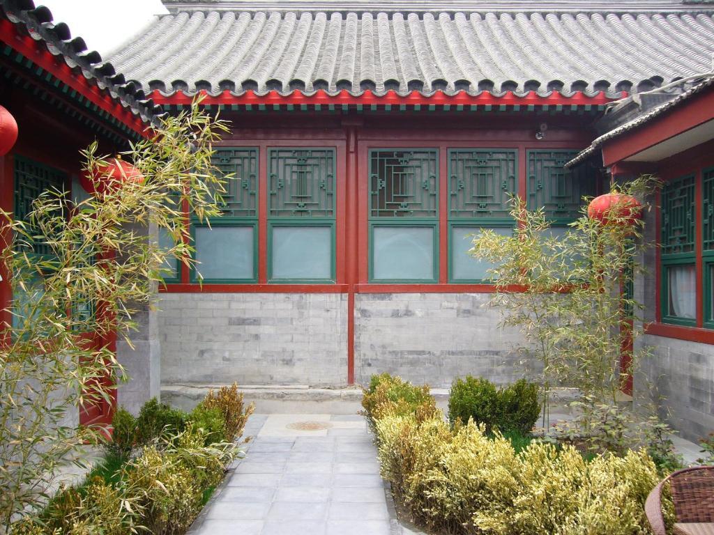 The facade or entrance of Lu Song Yuan Hotel(Nanluoguxiang)