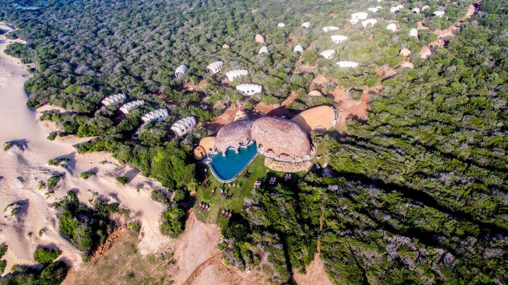 A bird's-eye view of Wild Coast Tented Lodge - All Inclusive