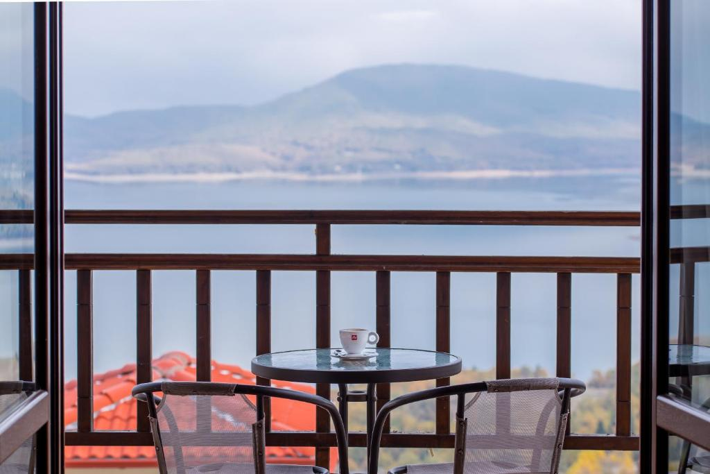 A balcony or terrace at Nevros Hotel Resort and Spa