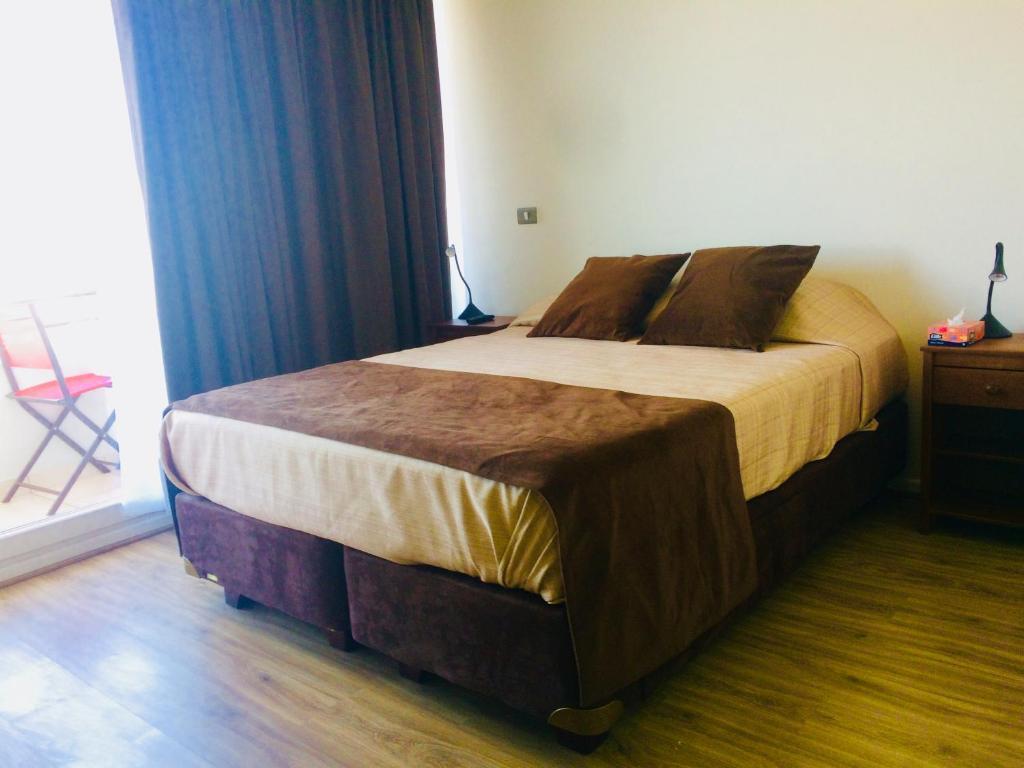Cama o camas de una habitación en Home Studio with Amazing View