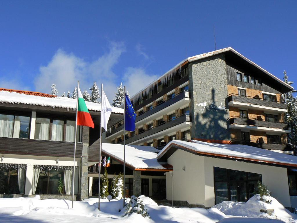Finlandia Hotel during the winter