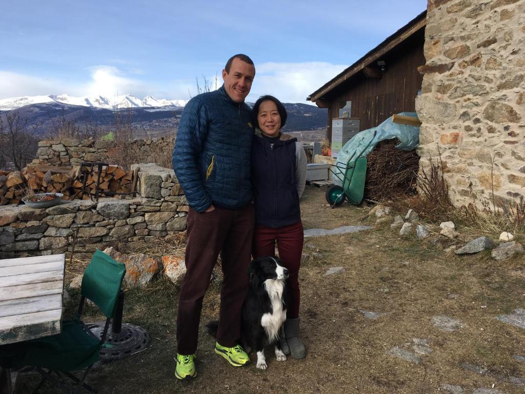 Una família a Gite Cal Pai