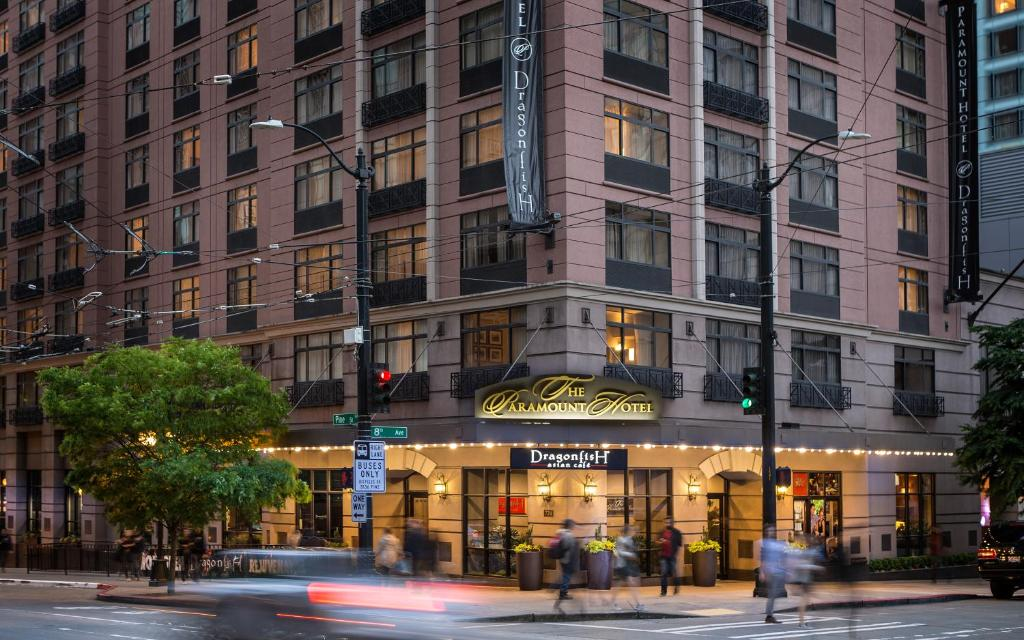 Hotels In Seattle >> The Paramount Hotel Seattle Updated 2019 Prices