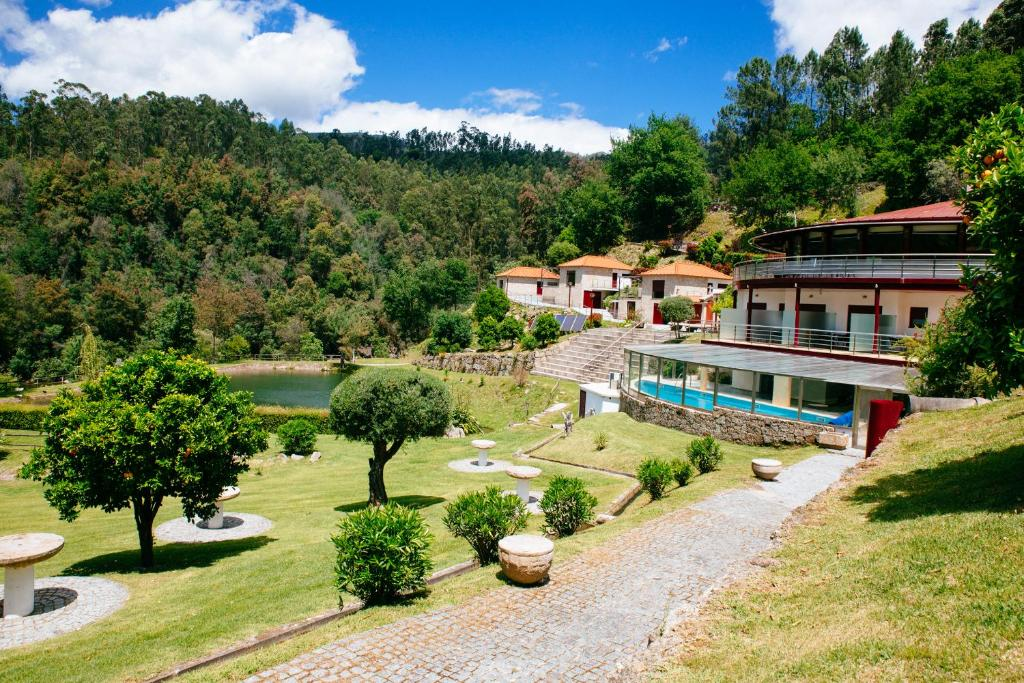 A bird's-eye view of Quinta do Lago