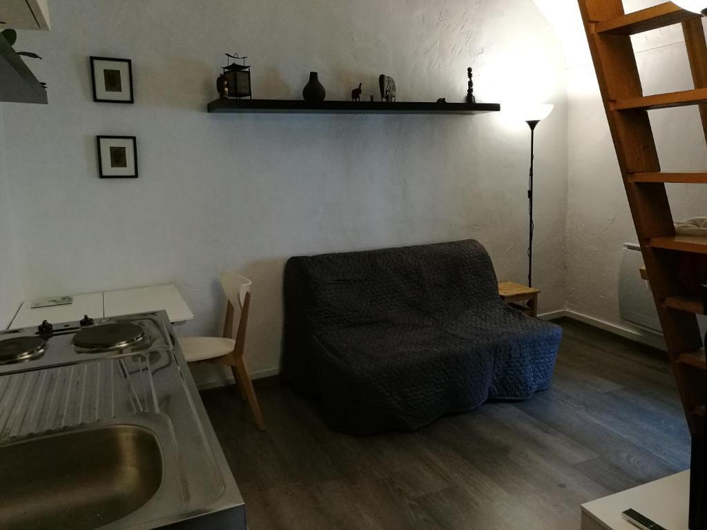 Coin salon dans l'établissement Studio Esbly