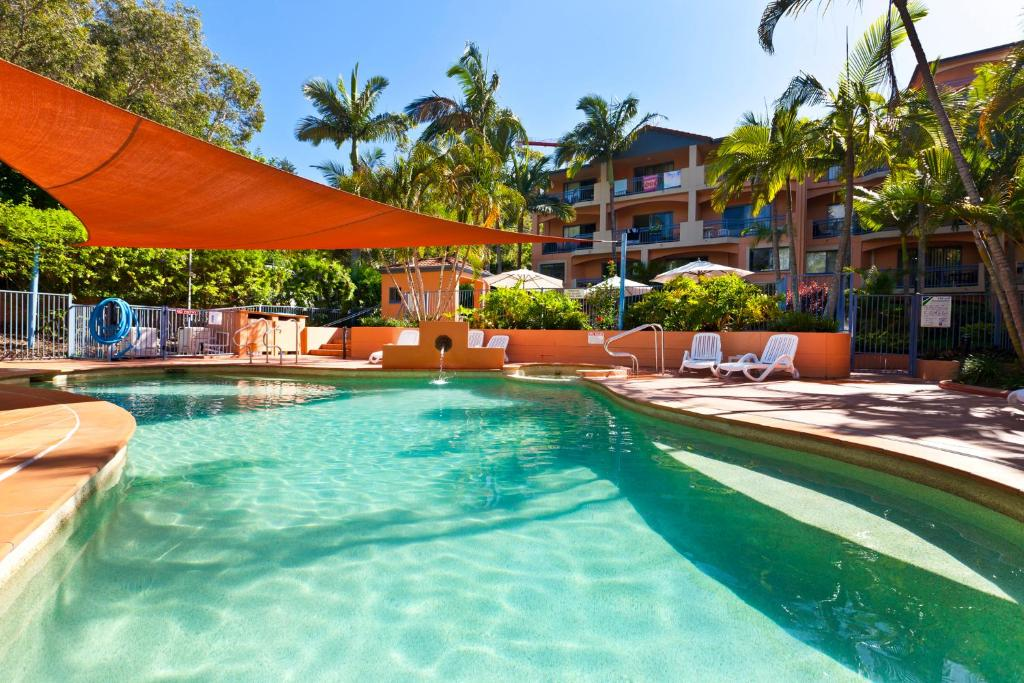 The swimming pool at or near Bella Mare Beachside Apartments