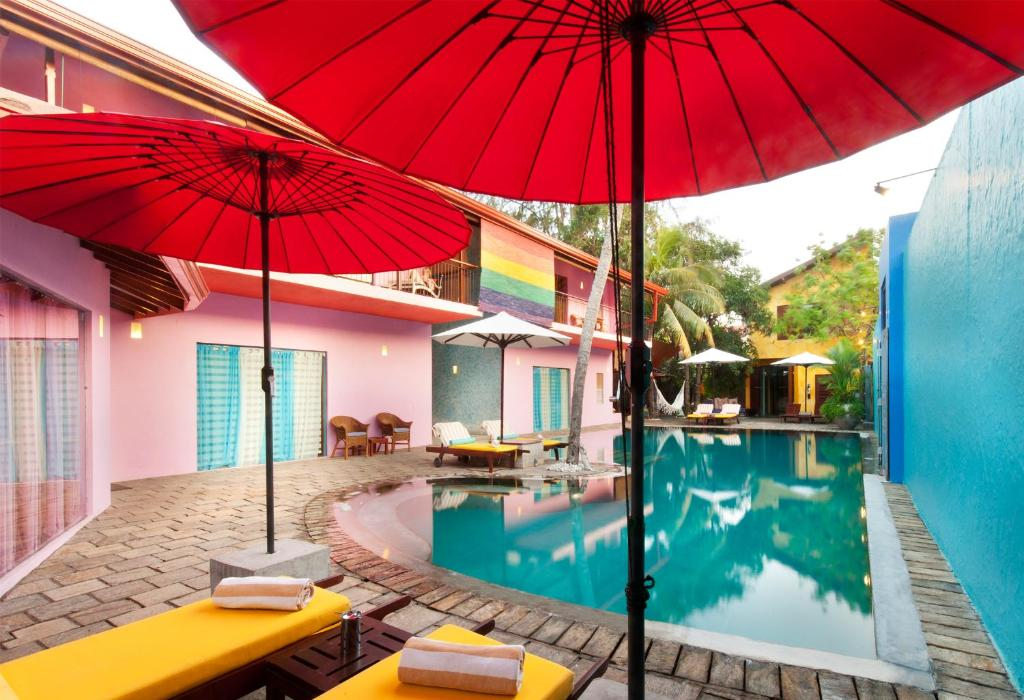 """The swimming pool at or near Dickman Resort """"The Boutique Hotel"""""""