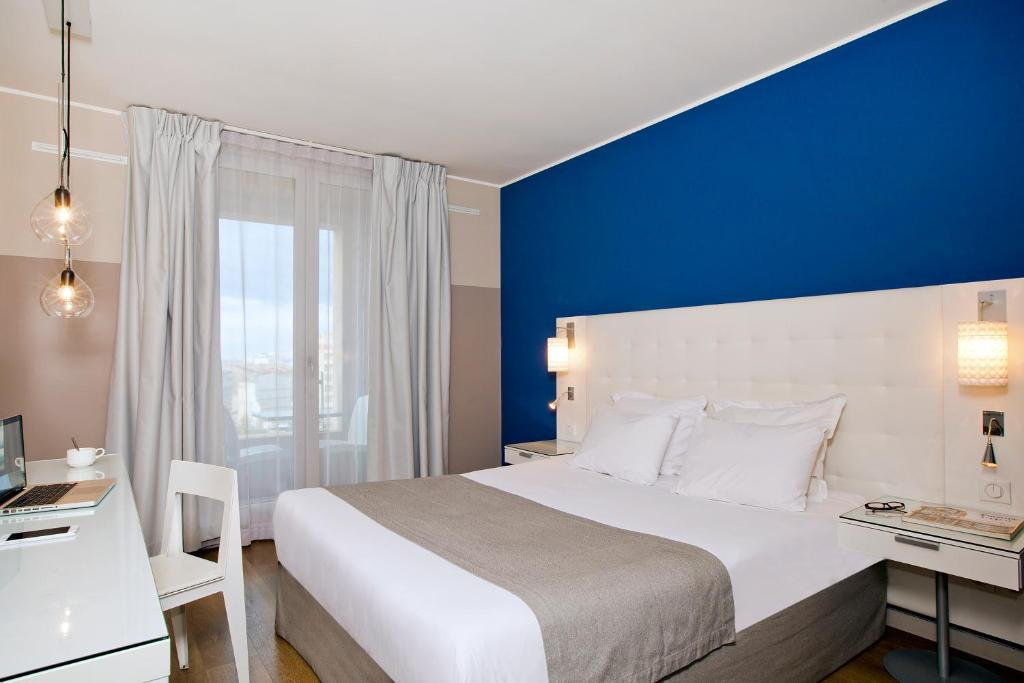 Un ou plusieurs lits dans un hébergement de l'établissement Residhome Marseille Saint-Charles