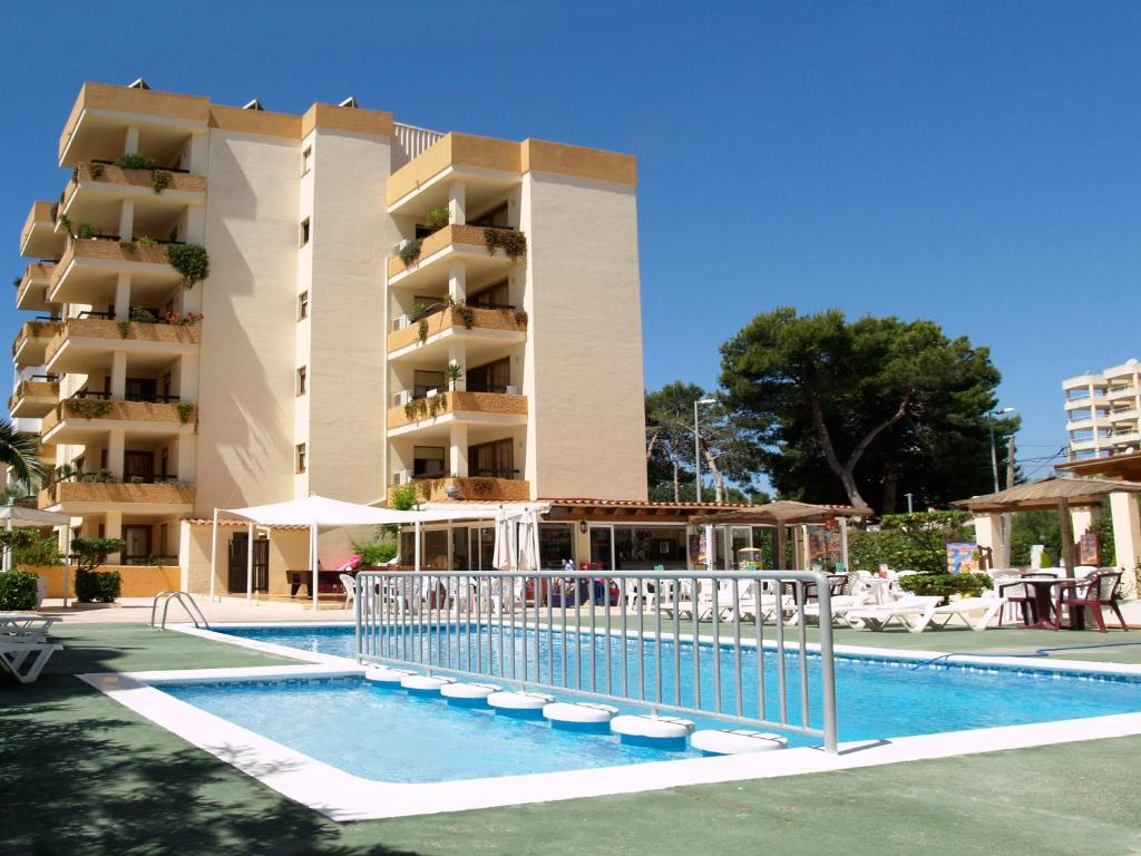 The swimming pool at or near Apartamentos Arlanza - Only Adults