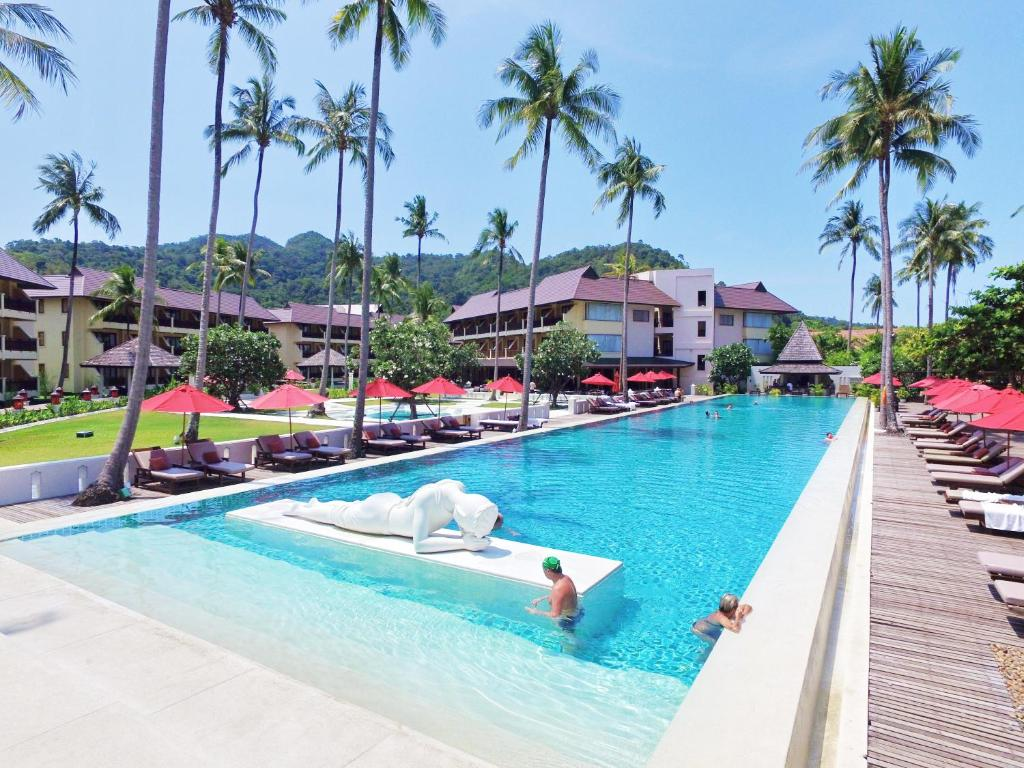 The swimming pool at or near The Emerald Cove Koh Chang