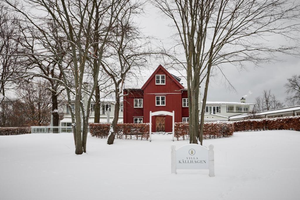 Villa Källhagen žiemą