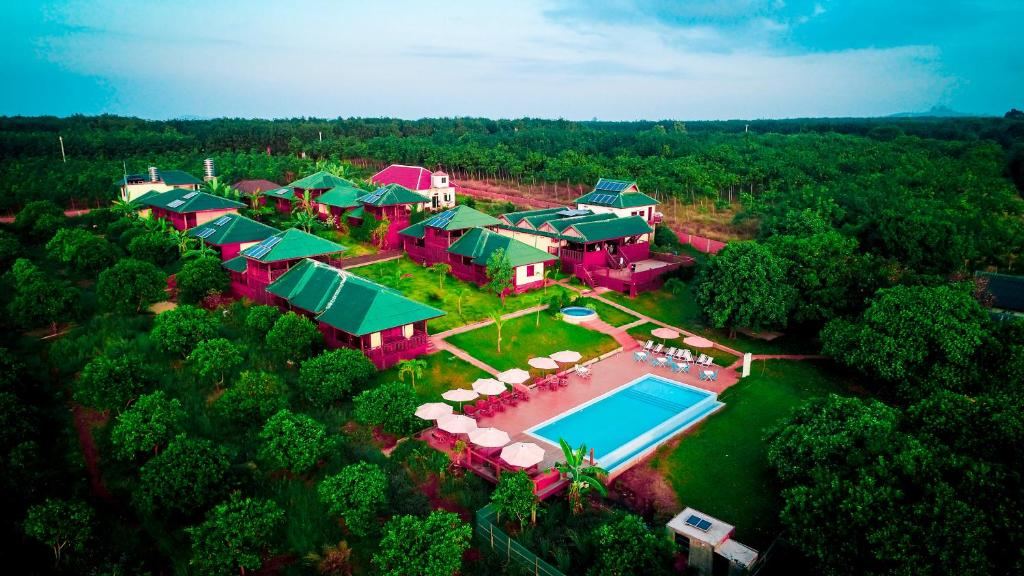 Ratanakiri Paradise Hotel & SPA iz ptičje perspektive