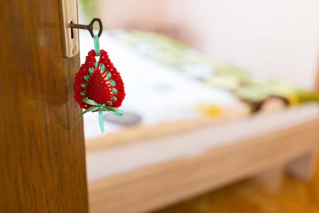 Postelja oz. postelje v sobi nastanitve Herbal Rooms Homestay