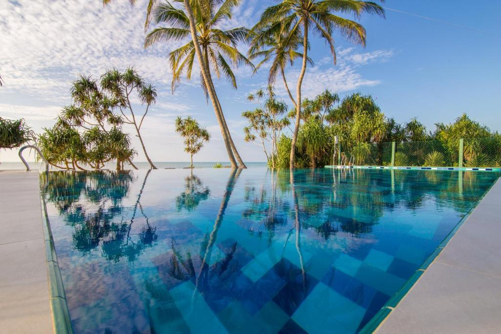 The swimming pool at or near Ananya Beach Resort