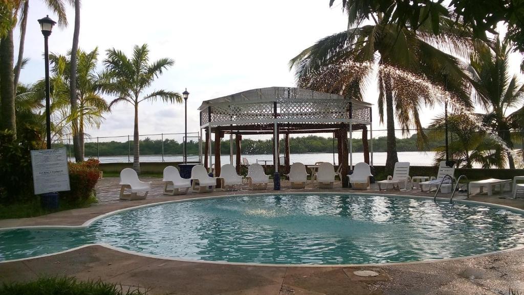 The swimming pool at or near Hotel Marina San Blas