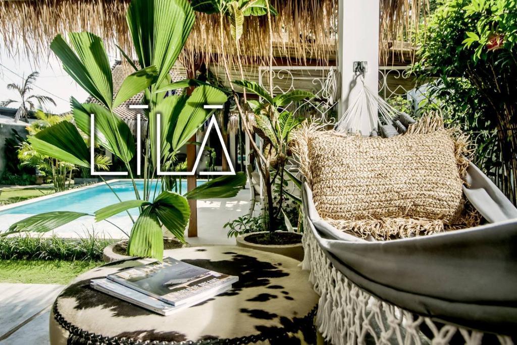 Uma vista da piscina em Lila Boutik Residence ou nos arredores