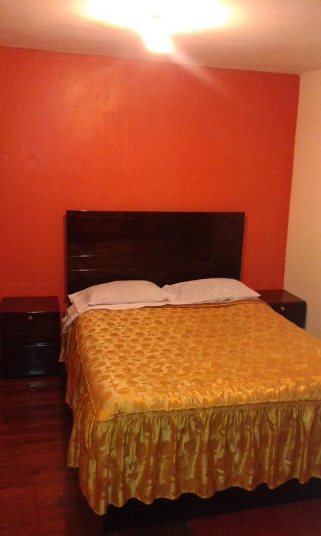 Cama o camas de una habitación en Hostel Sion