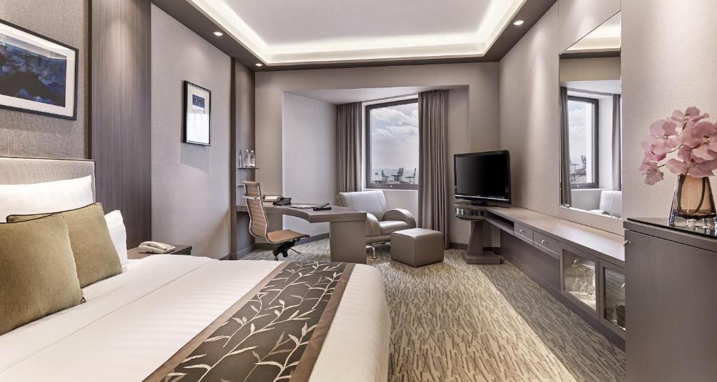 Zona de estar de M Hotel Singapore