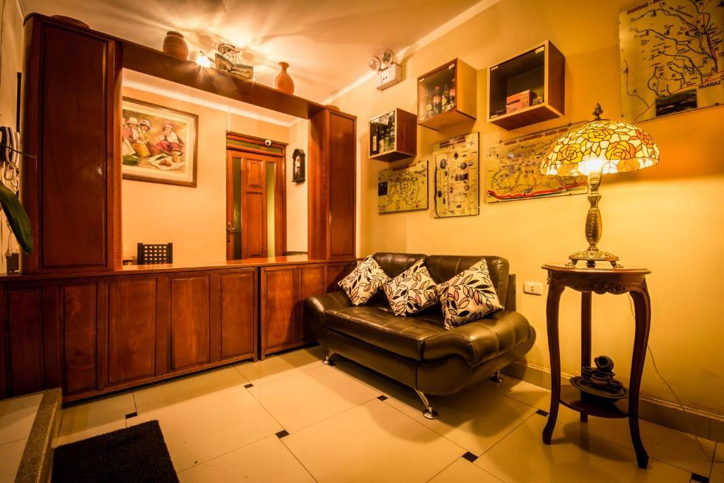 Zona de estar de Hotel Karhuash