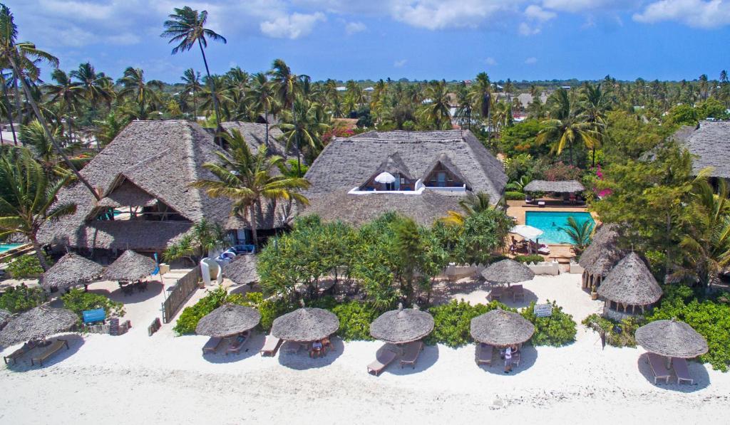 A bird's-eye view of Zanzibar Retreat Hotel