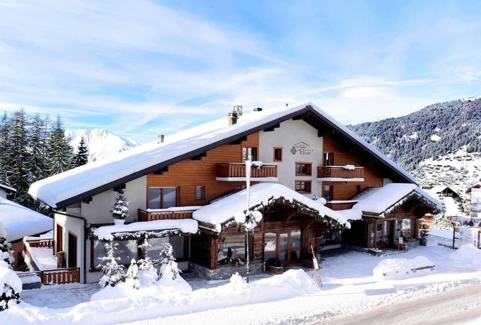 Le Chalet de Flore during the winter