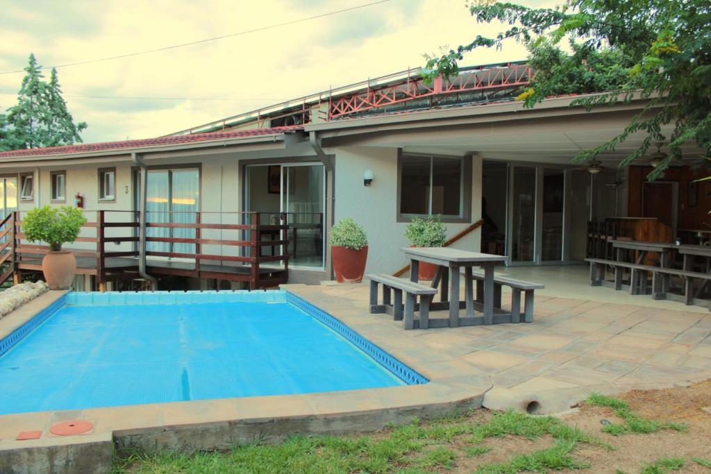 Bassein majutusasutuses Okavango Guest House või selle lähedal
