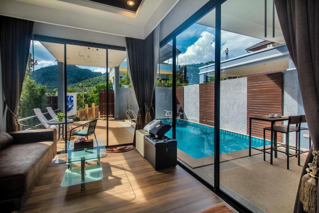 Bassein majutusasutuses KG Private Pool Villa või selle lähedal