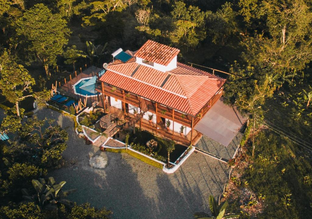 A bird's-eye view of Cetro Hotel Boutique