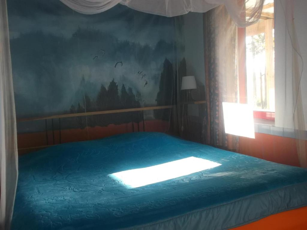 Uma cama ou camas num quarto em Termas Da Azenha