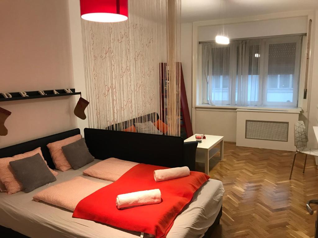 Cama ou camas em um quarto em P3 Cozy Flat