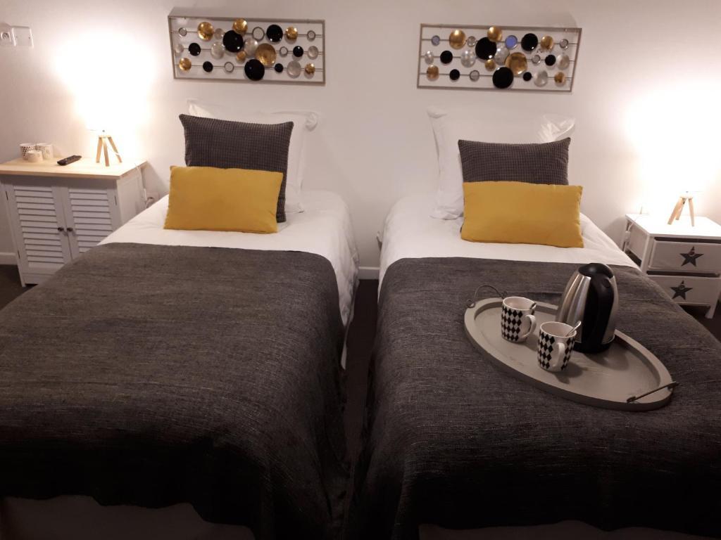 Un ou plusieurs lits dans un hébergement de l'établissement Suite 7 du Temple pour 4 pers