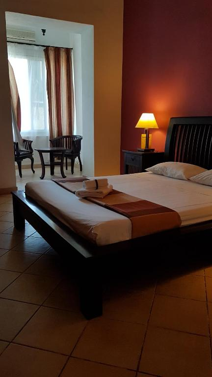 Un ou plusieurs lits dans un hébergement de l'établissement Kaleta Hotel