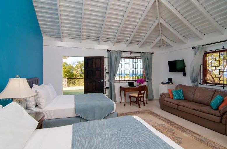 Гостиная зона в Mynt Retreat Bed & Breakfast