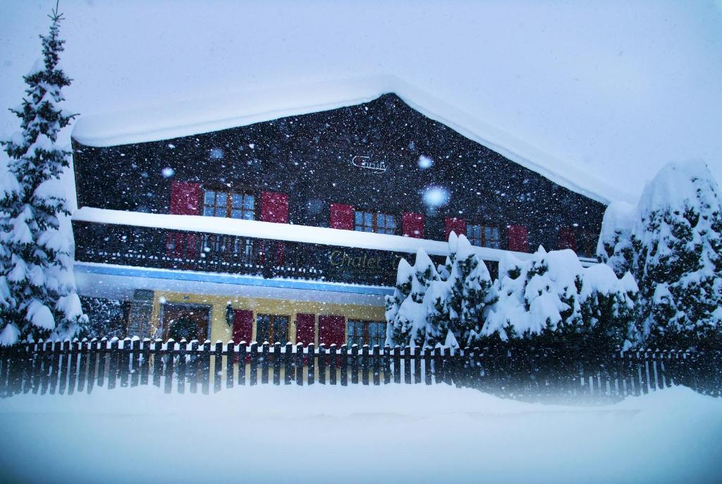 Chalet Christy im Winter