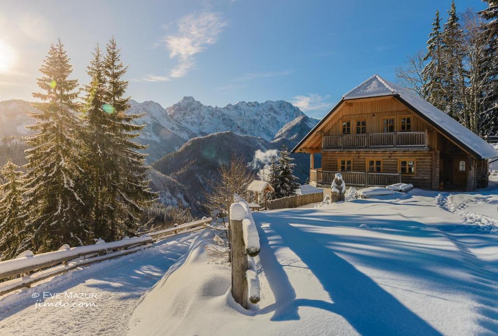 """Holiday chalet """"Alpine dreams"""" pozimi"""