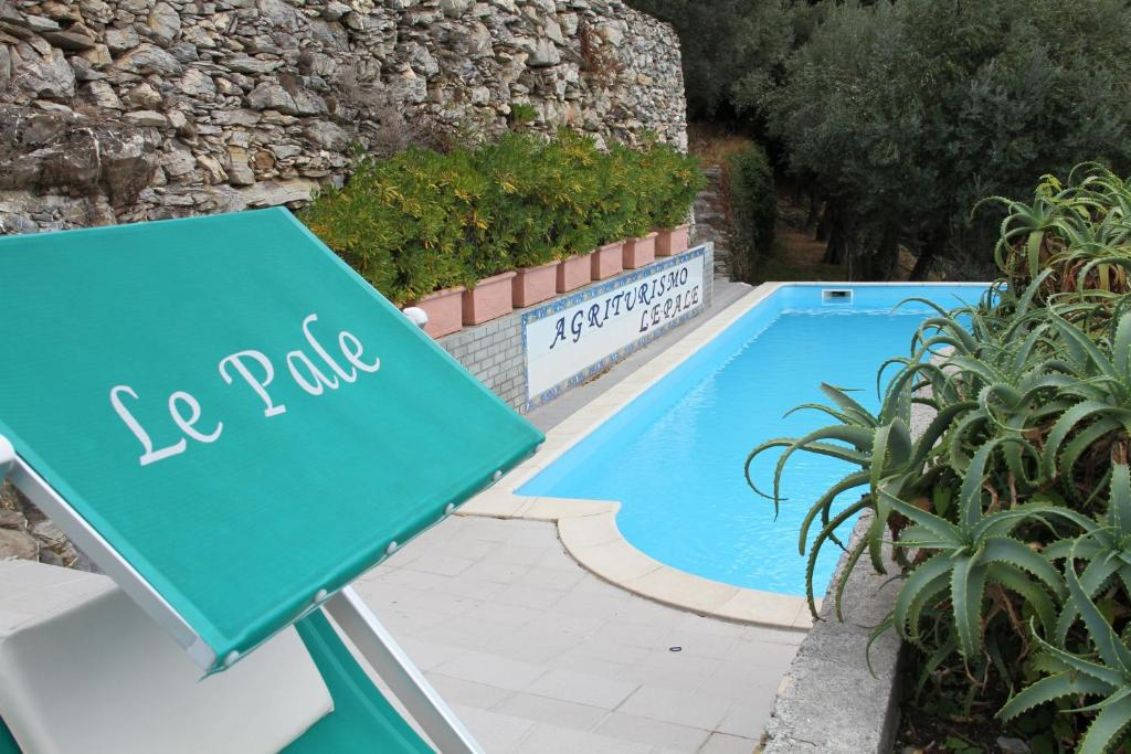 The swimming pool at or near Agriturismo Le Pale
