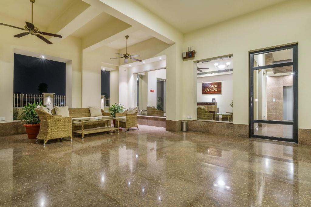 The lobby or reception area at Zade House Jaipur