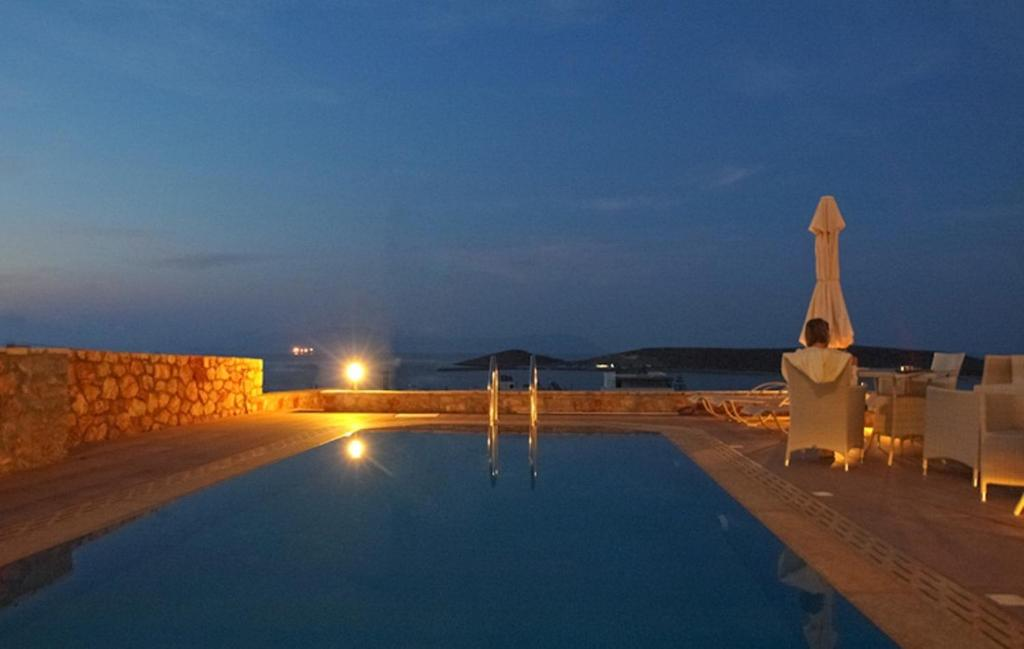 The swimming pool at or close to Kythira Golden Resort
