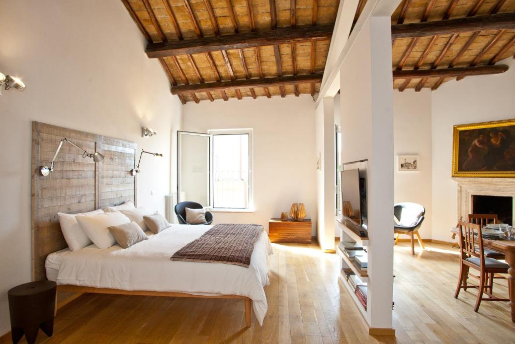 A bed or beds in a room at Casa Modelli