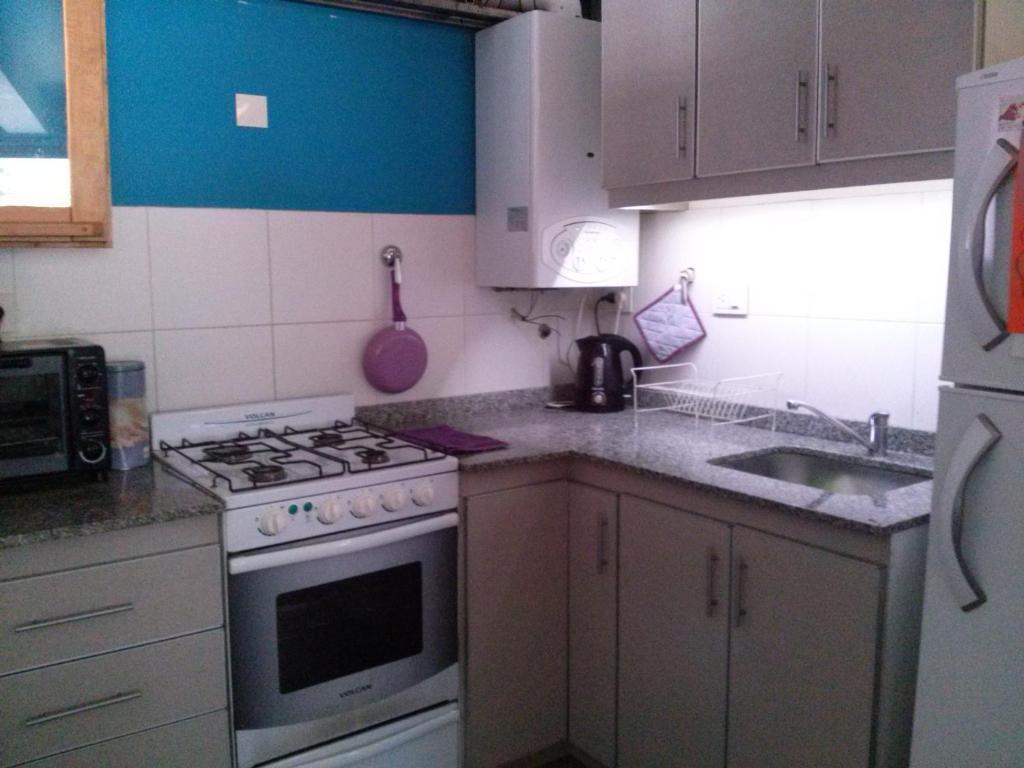 Una cocina o kitchenette en Departamento M&L