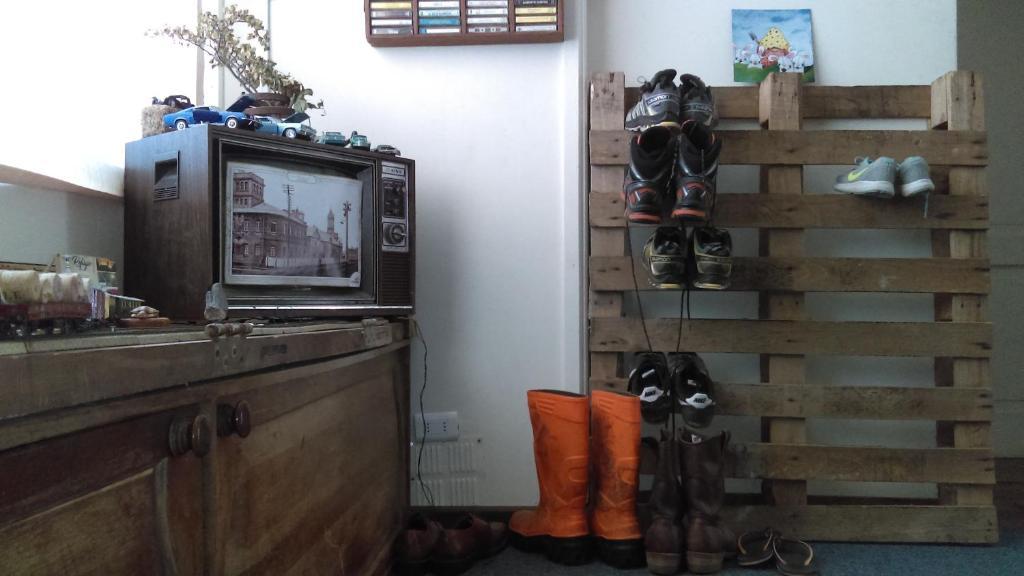 The lobby or reception area at Refugio Punta Arenas
