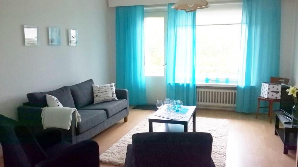 Oleskelutila majoituspaikassa Two bedroom apartment in Kotka, Ruukinkatu 11 (ID 9016)