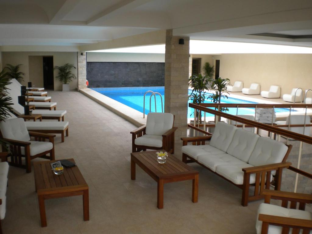 The swimming pool at or near Hotel Etoile