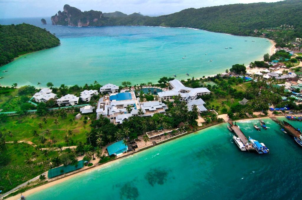 A bird's-eye view of Phi Phi Island Cabana Hotel