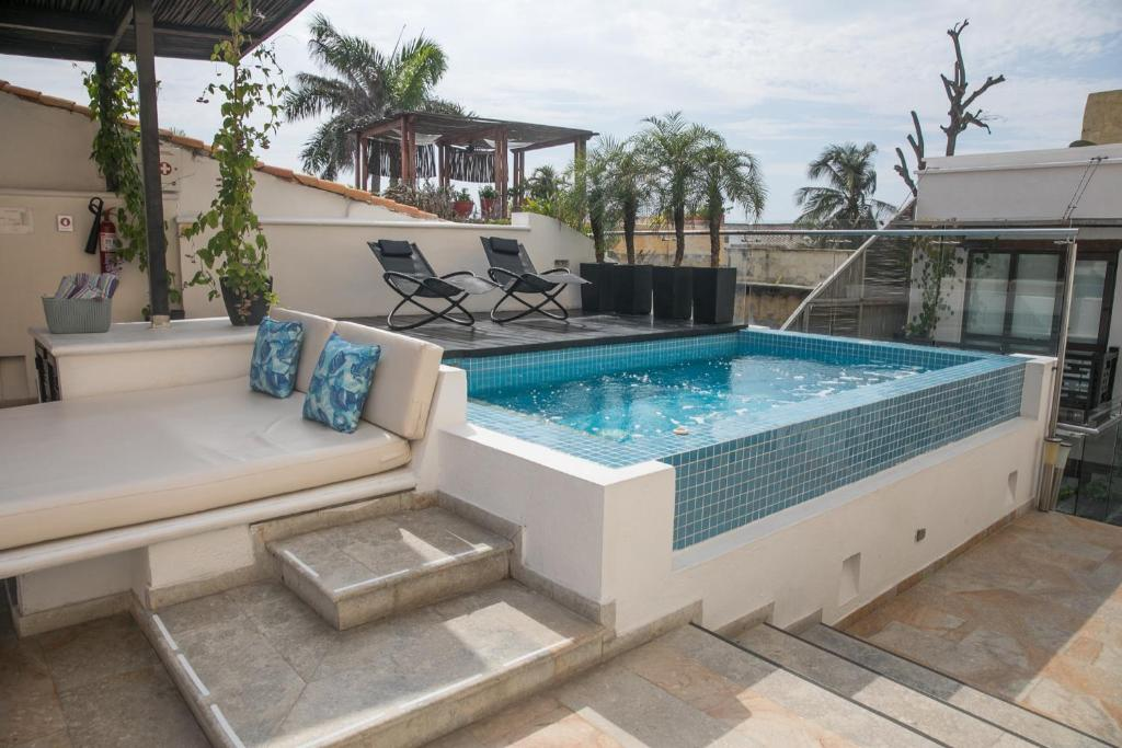 The swimming pool at or near Casa Gastelbondo Adults Only