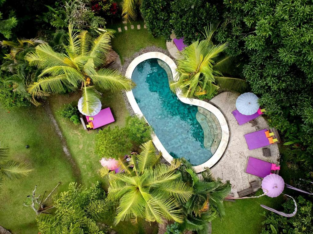 A view of the pool at Swasti Eco Cottages or nearby