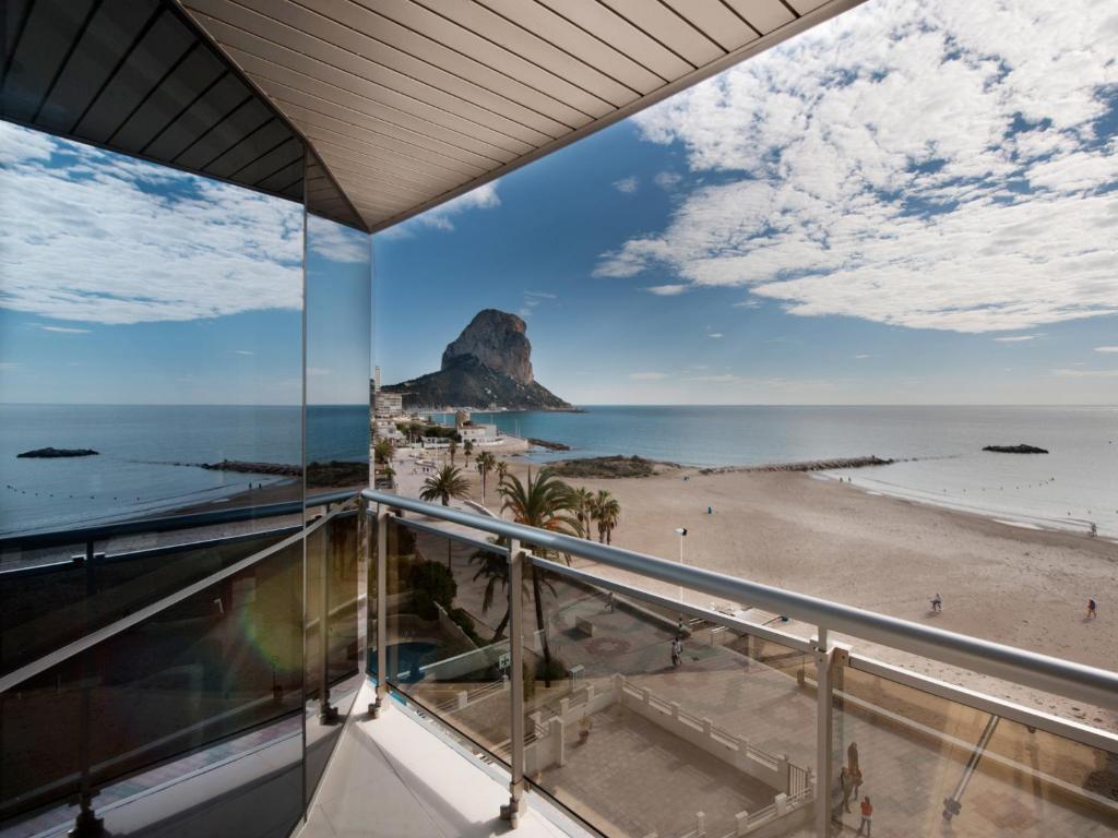 Vista general del mar o vista desde el apartamento