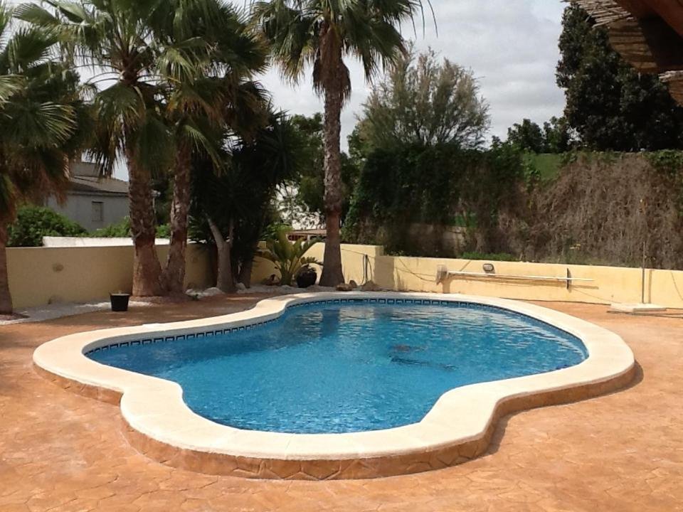 The swimming pool at or close to Pete's Place