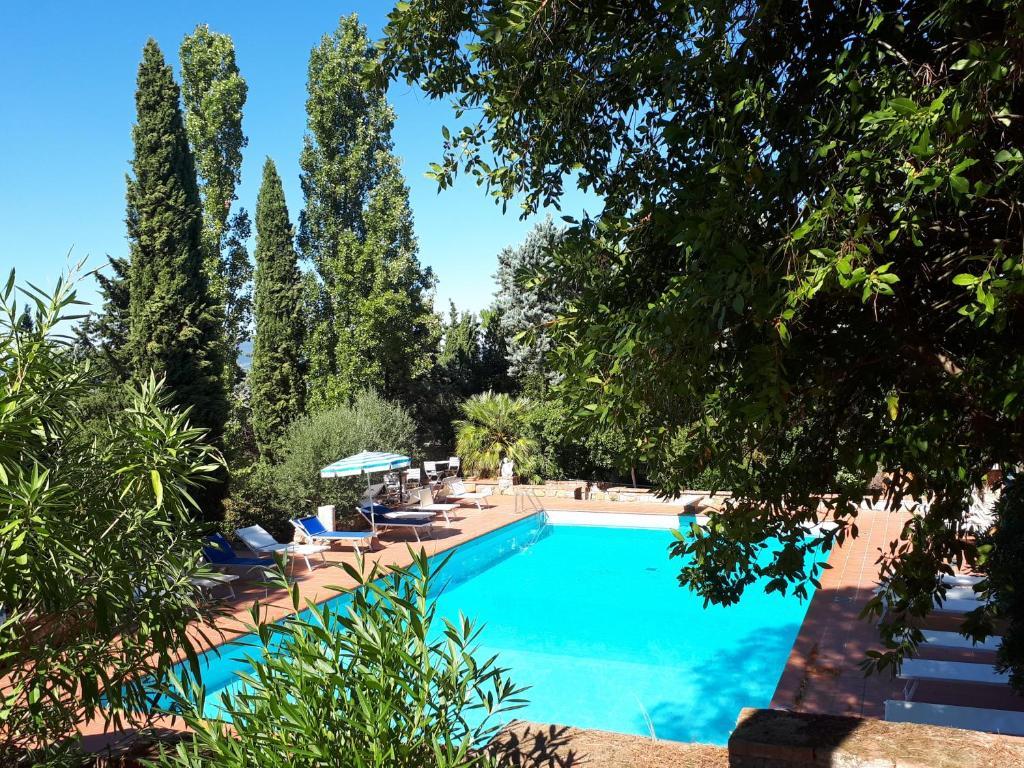 The swimming pool at or near Fattoria Il Milione Agriturismo