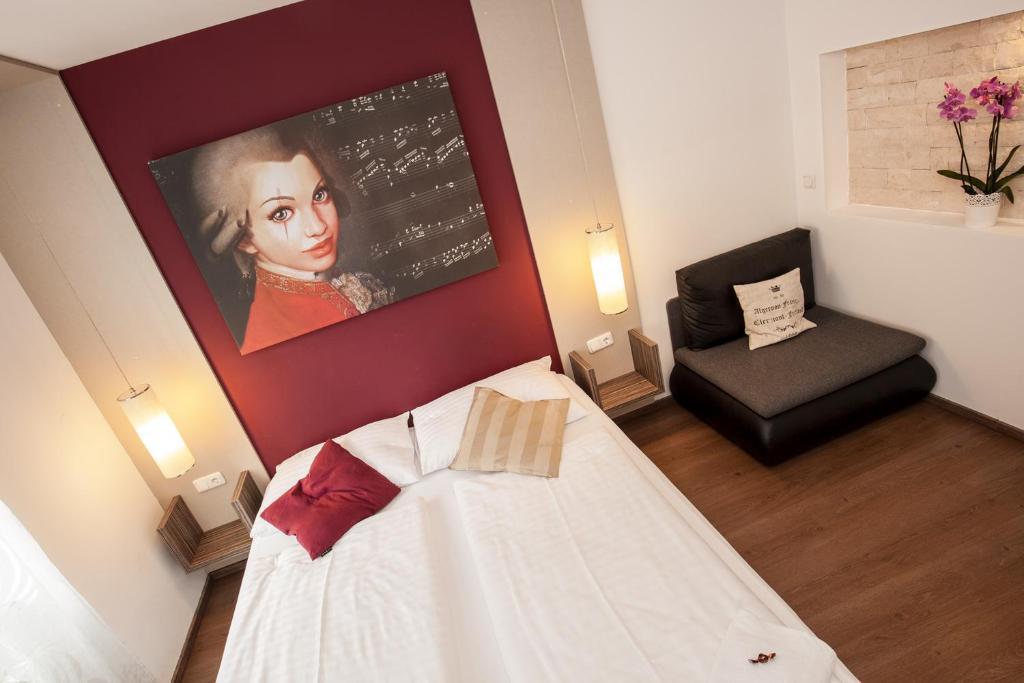 Ein Bett oder Betten in einem Zimmer der Unterkunft Urban Stay Villa Cicubo